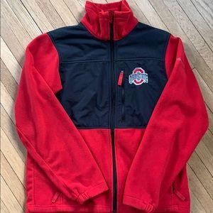 Ohio state fleece zip up